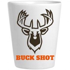 Funny Buck Shot Hunter