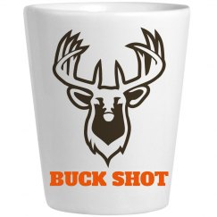 Funny Buck Shot Hunter