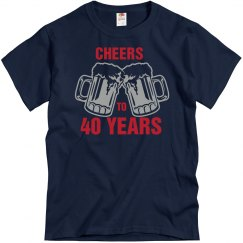 40th birthday - Cheers