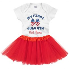 Baby's First 4th Of July Onesie