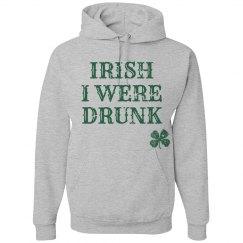 Vintage St Patricks Drunk Hoodie