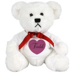 Todd's Teddy Bear