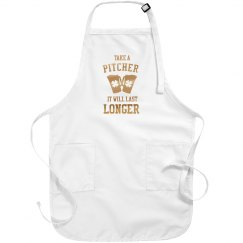 Metallic Take A Pitcher Irish Apron