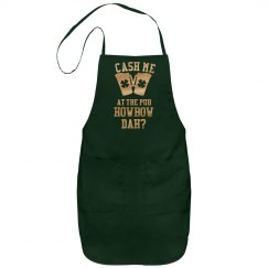 Metallic At The Pub Irish Apron