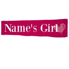 Custom Name's Girl Sleeve