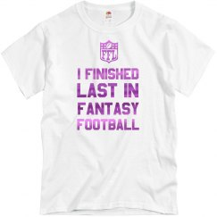 I Lost Fantasy Football Tee