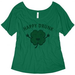 Happy Irish Drunk