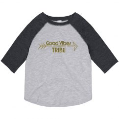 Good Vibes Tribe Toddler 3/4 Tee