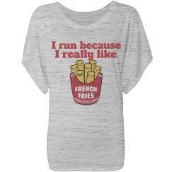 I Run for Fries!