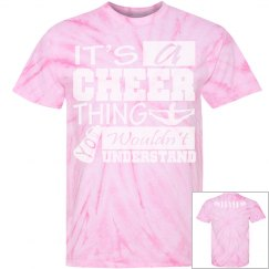 Tie dye Cheer Thing