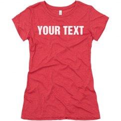 Custom Pink T-Shirt