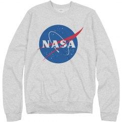 NASA Logo Grey Sweater
