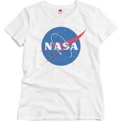 Nasa Logo Nerd Comfy Tee