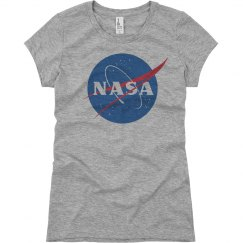 NASA Logo Girls In Science