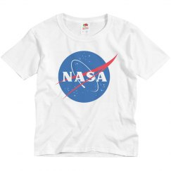 NASA Logo Future Scientist Kid