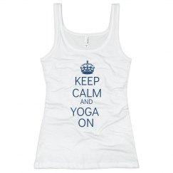Keep Calm & Yoga On