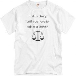 Funny Lawyer Theme Tshirt