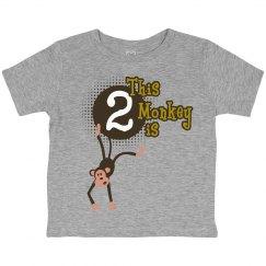 Little Monkey is 2