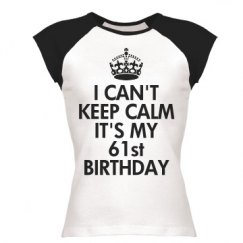 It's my 61st birthday