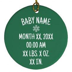 Adorable Christmas Baby Info