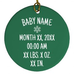Adorable Christmas Baby Info