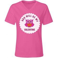 Pink Valentine Tee Girls