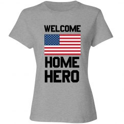American Soldier Welcome Home Hero