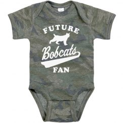 Custom Future Mascot Fan Baby