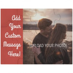 Custom Couple Photo Puzzle