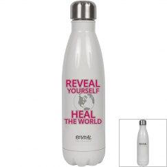 REVEAL Yourself Water Bottle - Raspberry