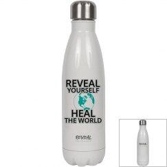 REVEAL Yourself Water Bottle - Black