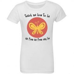 """""""Little A"""" butterfly poem"""