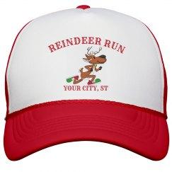 Reindeer Run Hat