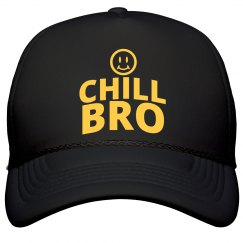 Chill Bro! The Tea Club of Awareness Hat (BLK)
