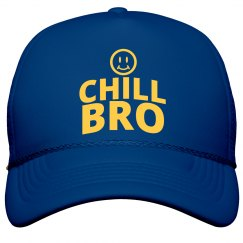 Chill Bro! The Tea Club of Awareness Hat (BLU)