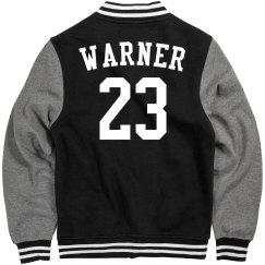 Warner Football jacket