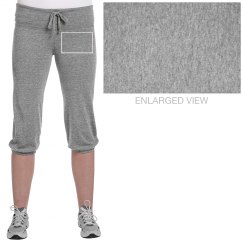 Junior Fit - Jersey Crop Pants