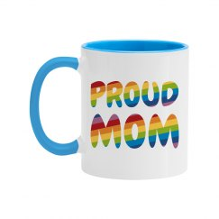 Cute Gay Pride Proud Mom