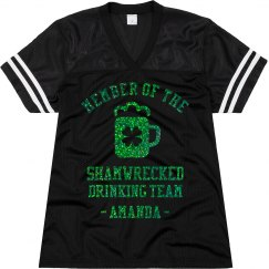 Metallic Sham-Wrecked Drinking Team