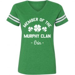 Custom Family Irish Clan