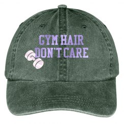 Gym hair don't care hat