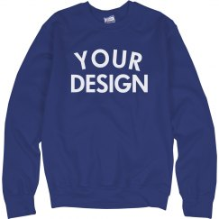 Personalized Comfy Crewneck Sweatshirt