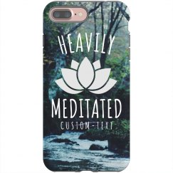 Heavily Meditated Lotus Phone Case