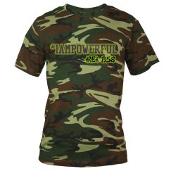 IAMPOWERFUL CAMO TEE
