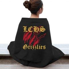 LCHS Grizzlies Stadium Blanket