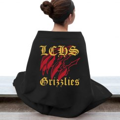 LCHS Grizzlies Stadium Blanket