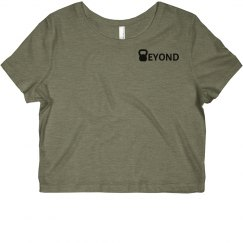 Beyond Performance Women's Crop Tee