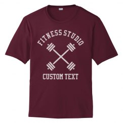 Create Custom Fitness or Gym Studio Workout Tees