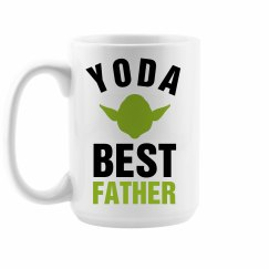 Yoda Best Father Large Coffee Mug