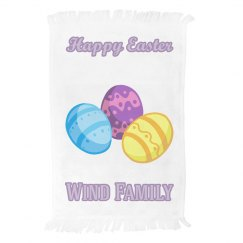 Personalized Easter Hand Towel